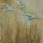 Vent de liberté - Techniques mixtes sur toile - 122 x 91 cm