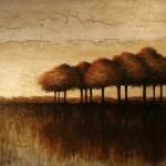 Communauté - Techniques mixtes sur toile - 91 x 122 cm